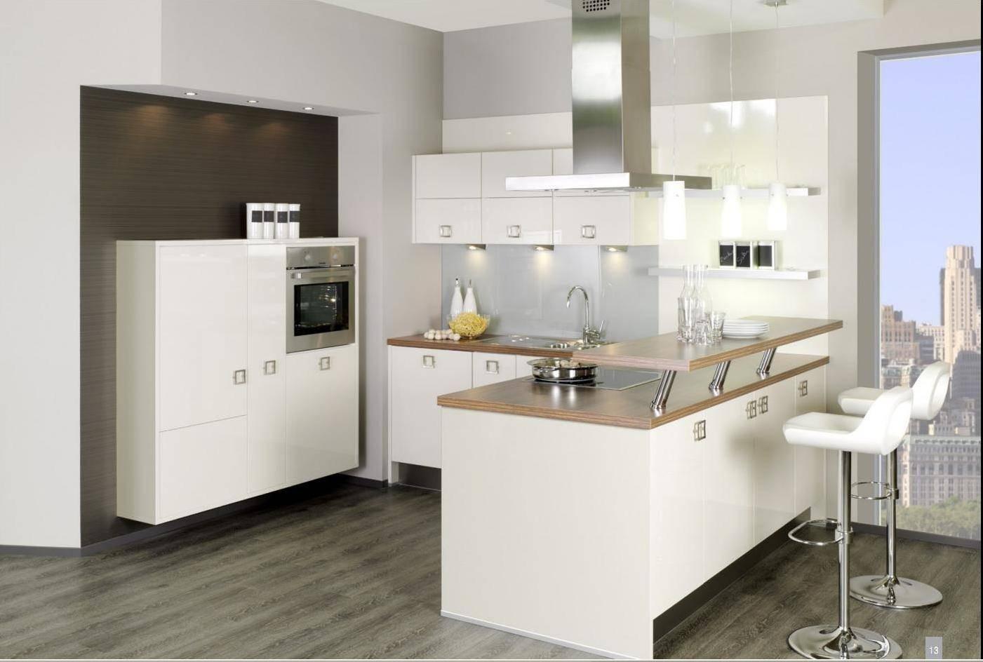 Эргономичная кухня - гостиная в комнате 20 кв м