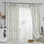 Beautiful Floral Country Style Living Room Curtains CTMAKT150402014942 1