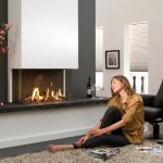 Black-white-living-room-fireplace