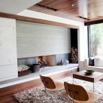 Brilliant design that makes the inventive fireplace the focal point