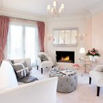 Eclectic and tasteful living room with a warm glow