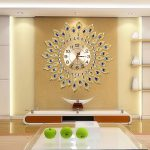 European-Luxury-Quartz-Creative-Large-Wall-Clock-Art-Golden-Peacock-Wall-Clock-Modern-Design-Living-Room