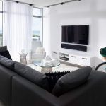 Fabulous minimal living room for a boutique hotel style residence 1
