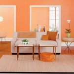 Home Decorating Ideas Organizing Tips orange wall paint colors 1