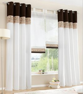 Hot-Modern-Curtains-White-Sheer-Blinds-Tulle-Living-Room-Curtains-for-kitchen-Screening-Cortina-the-middle