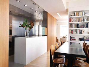 Kitchen-and-Dining-Room-with-Plywood-Divider