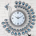 Luxury-Diamond-font-b-Peacock-b-font-Large-font-b-Wall-b-font-font-b-Clocks