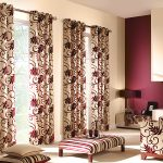 Modern Living Room Curtains Picture