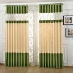 Modern Style Floral Pattern Polyester Curtain For Living Room CTMAKT150415011344 1