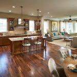 Open Concept Kitchen Living Room Design Ideas 9 620x410
