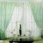 Pastel-Themed-Sheer-Curtain-Design-for-Living-Room.