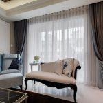 Sheer White Curtains for Modern Living Room 1