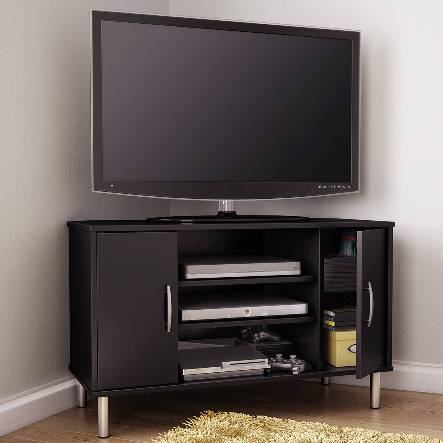 Pictures of corner tv stands