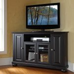 Tall Corner TV Stand Paint