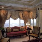 beautiful beige wood glass unique design most beautiful living room curtain valance stainless rail grommet overdrapery cord tieback table lamp interior at livingroom with living room window coverings