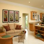 comfortable living in the kitchen tropical facility design wood