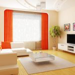 contemporary curtains for living room modern style curtained living room extremely transparent white sheer curtains contrasted orange loose curtains rounded rectangular white framed curtain wall frame 1