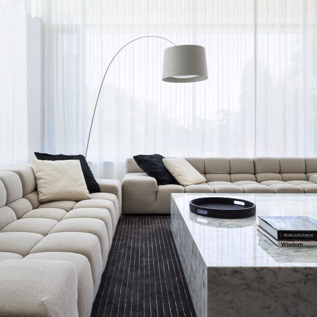 Гостиная в современном минимализме