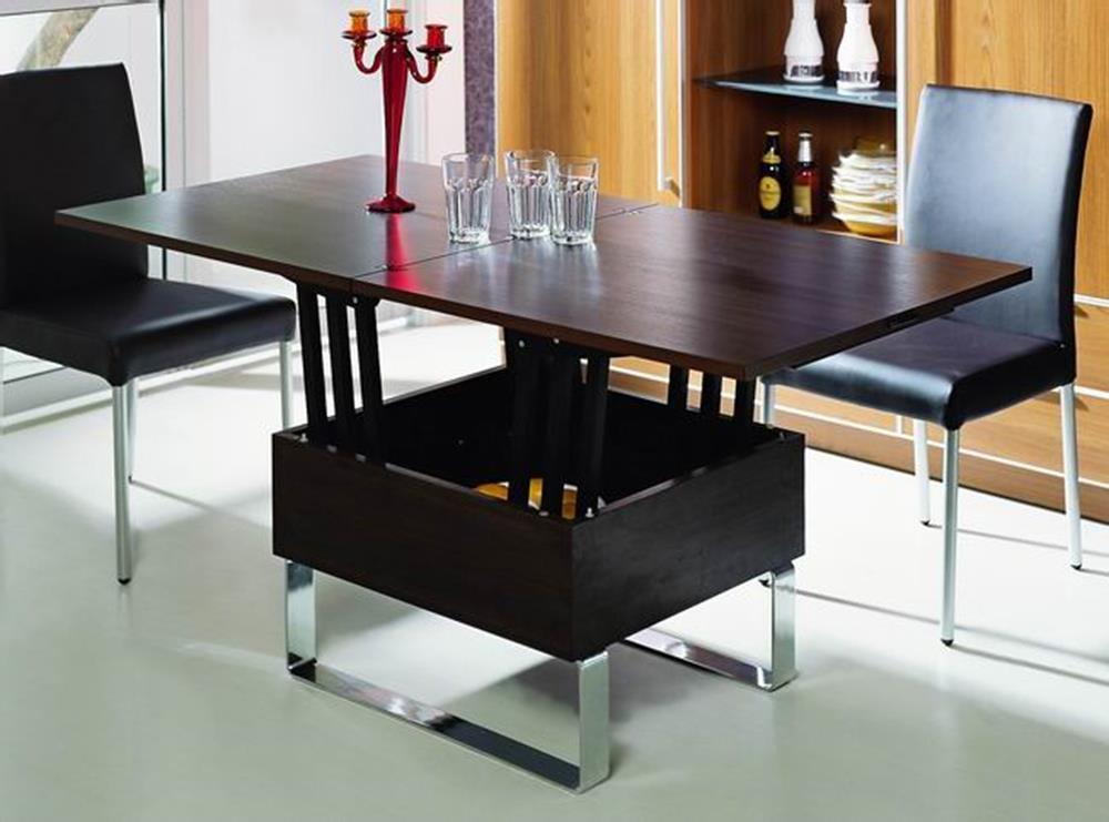 Журнальный столик - трансформер с поднимающейся столешницей