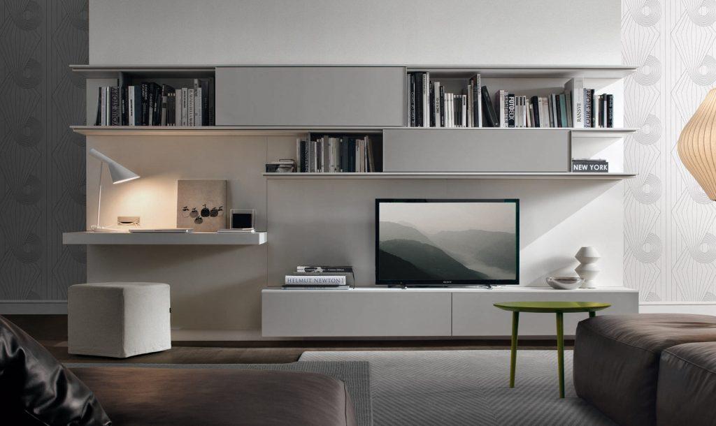 Модульная стенка под стиль гостиной