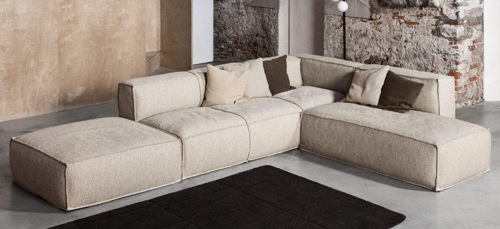 Трансформация модульного дивана