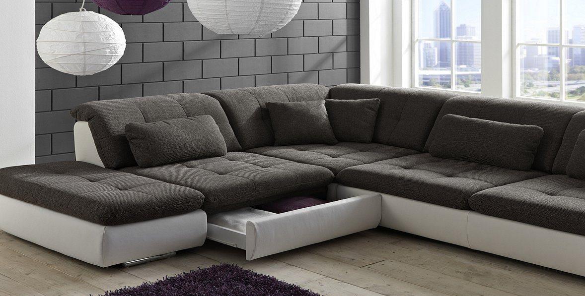 Модульный диван с ящиками для хранения