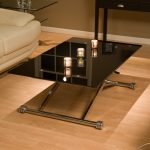 extraordinary living room tempered rectangle black glass coffee table design featuring x shaped stainless steel legs on laminate floor as well as rustic coffee tables plus clear coffee table 1