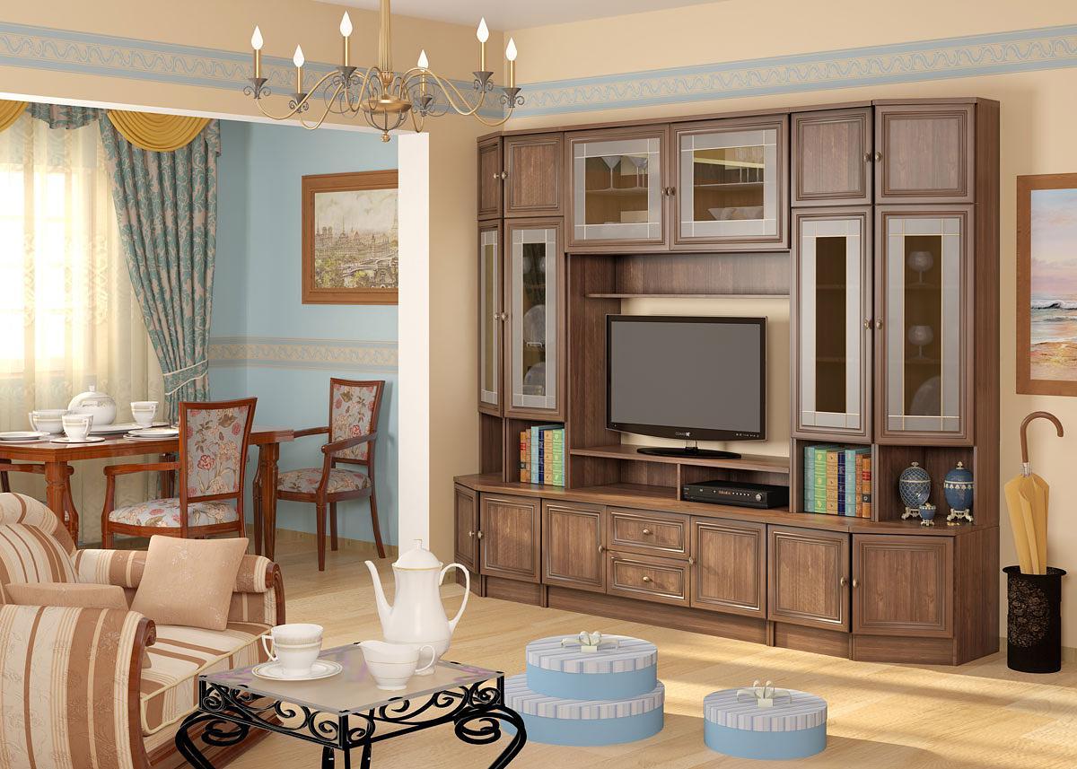 Modulares System für Wohnzimmer
