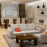 furniture living room picturesque sofa for small living room design ideas with stylish open plan dining room and soft gray sofas on combined nice orange pillows also beautiful square wooden coffe tab