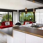 good modern open kitchen floor plans open floor plan kitchen and living room 1
