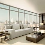 incredible design interior of modern apartment hotel ideas photo recommending open plan living room with small kitchen inside large glass windows more view top city and elegant white sofa among drum s 1120x6