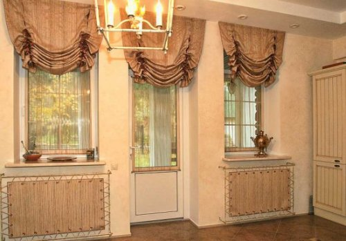 Лондонские шторы для гостиной