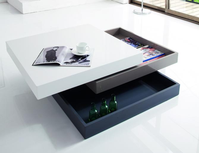Журнальный столик - трансформер в современном стиле