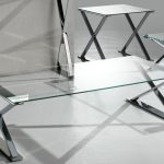 living room cool modern rectangular crystal and stainless steel coffee tables with clear glass tempered top frameless design with convertible coffee table and large coffee tables wonderful living room 1