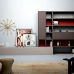 living room wall unit contemporary interior furniture for living room a simple living room with danish wall units in dark brown and red with long floor table for minimalist living room in white and brown the