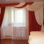 modern classic curtains for living room with luxury interior