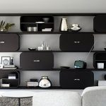 modern shelving system design wooden cocoon by paola navone 7 977