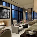 mounting a tv over a fireplace ideas contemporary living room interior design 1