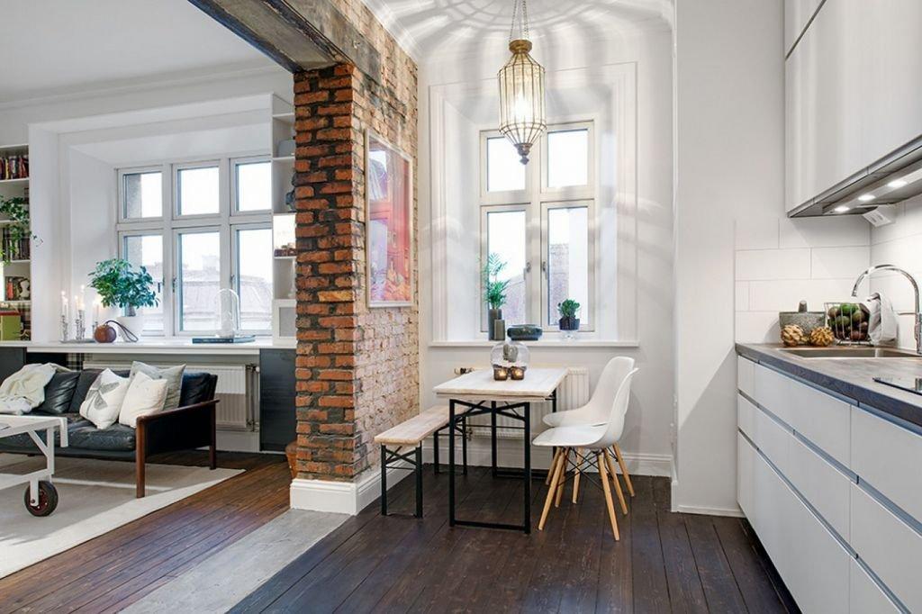 Проем в несущей стене для кухни гостиной