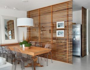 raumtrenner-ideas-partition-wall-of-wood-kitchen-and-dining-room-separate-room-dividers