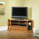 sauder orchard hills corner tv stand.403818.2. raw