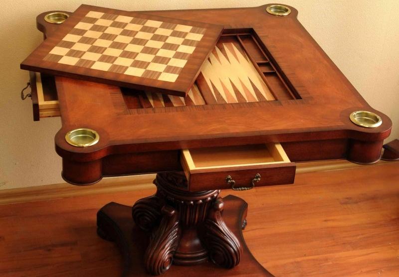 Журнальный столик - шахматная доска
