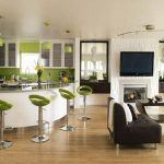 smart home interior ideas with open plan living room and kitchen combination inside spacious home and excellent layout decorations as well as ideas in decorating a living room and decor living room id