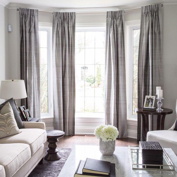 Раздвигающиеся шторы гостиную