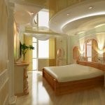 stretch ceiling design for luxury bedroom 1