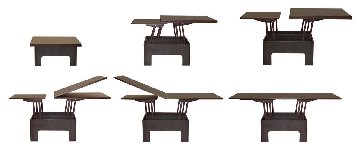 Журнальный столик трансформер для гостиной компактный