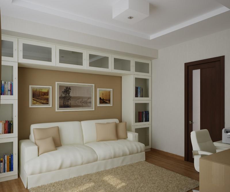 Модульная система вокруг дивана