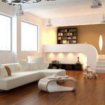 white Minimalist living room interior design 1