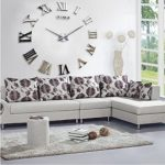 yikebo tm time letters roman numbers luxury large size moderen diy frameless quartz 3d large big mirror surface effect wall clock oversized clock living room decor wall sticker decal meetting room off