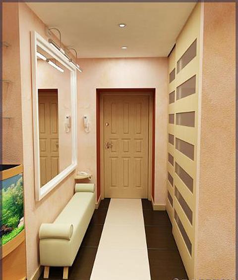 Дизайн прихожих на маленький коридор